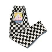 COOKMAN クックマン Chef Pants シェフパンツ Checkerチェッカー Black