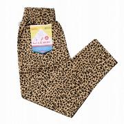 COOKMAN クックマン Chef Pants シェフパンツ Leopard ベージュ