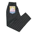 COOKMAN クックマン Chef Pants シェフパンツ ピンストライプ Black